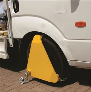 Picture of Wheel Clamp  Heavy Duty Triangle Type
