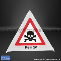 Picture of Perigo Danger Warning Sign