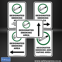 Picture of Designated Smoking Area Sign