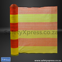 Picture of Barrier Net Orange & Yellow 1m