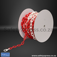 Picture of Plastic Chain Red & White 8mm
