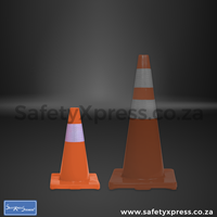 Traffic Cone Flexi Dayglo 450mm
