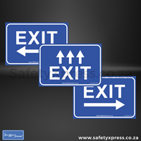 Picture of EXIT Social Distance Floor Stickers