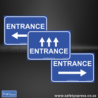 Picture of ENTRANCE Social Distance Floor Stickers
