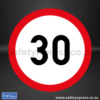 Picture of Speed Limit 30km Sign