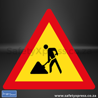 Picture of Men At Work Sign