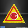 Picture of 3 Sided Foldable Road Sign 3 Sides