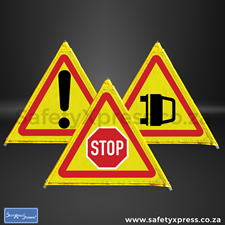 Picture for category 3 Sided Foldable Road Sign 900mm