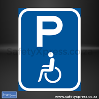 Picture of Disabled Parking Sign