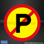 Picture of No Parking Sign 2