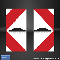 Picture of Danger Plate Speed Hump Sign