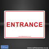 Picture of Entrance & Exit Sign