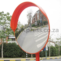 Picture of RoadQuip Convex Mirror 800mm Orange