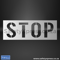 Picture of STOP Stencil