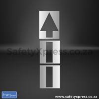 Picture of Arrow Straight Stencil