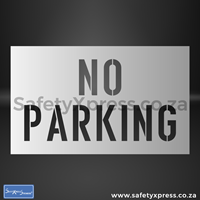 Picture of No Parking Stencil
